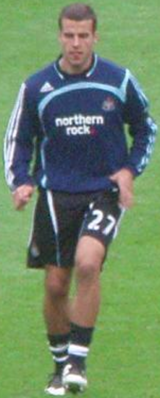 Steven Taylor (footballer) - Taylor training with Newcastle United in 2007