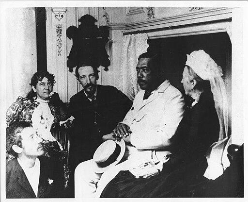 Stevenson Family with Kalakaua (PP-96-14-010)