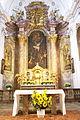 Stift Sankt Andrä-Hochaltarbild Kreuzigung Andreas.JPG