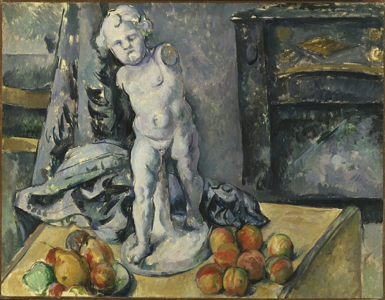 Still Life with Plaster Cupid (Paul Cézanne) - Nationalmuseum - 19606