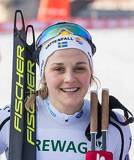 Stina Nilsson Swedish cross-country skier