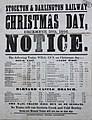 Stockton & Darlington Railway - Christmas Day 1856 timetable.jpg
