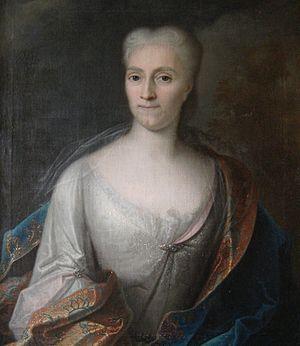 Anna Constantia von Brockdorff - Anna Constantia during her exile at Burg Stolpen