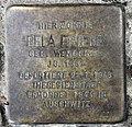 Stolperstein Aachener Str 4 (Wilmd) Bela Friede.jpg