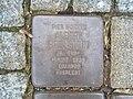 Stolperstein Albert Bernstein, 1, Herweghstraße 11, Mörfelden, Mörfelden-Walldorf, Landkreis Groß Gerau.jpg