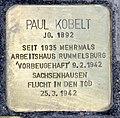 Stolperstein Alexanderplatz 2 (Mitte) Paul Kobelt.jpg