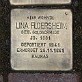 Stolperstein Fichtestraße 7 Lina Floersheim.jpg