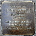 Stolperstein Irma Petzold Ackerstraße 83–84 0120.JPG
