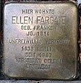 Stolperstein Kleve Tiergartenstraße 14 Ellen Fargate.jpg
