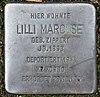 Stolperstein Luisenweg 10 (Reind) Lilli Marcuse.jpg