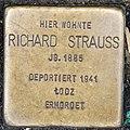 Stolperstein Remscheid Alleestraße 18 Richard Strauss.jpg