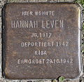 Stolperstein SG - Max-Leven-Gasse 5 - Hannah Leven DSC 9276And8more fused 5 PK.jpg