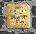 Stolperstein Unter den Linden 6 (Mitte) Herbert Katz.jpg
