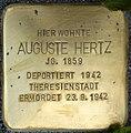 Stolpersteine Krefeld, Auguste Hertz (Nordwall 80).jpg