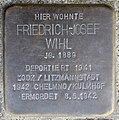 Stolpersteine Krefeld, Friedrich-Josef Wihl (Bogenstraße 73).jpg