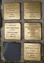 Stolpersteine Regensburg Ehrlich Nussbaum.jpg
