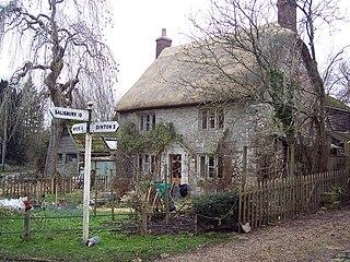 Teffont Magna Human settlement in England