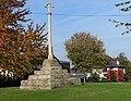 Stone cross in Muston, Leicestershire - geograph.org.uk - 1038585.jpg