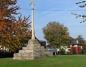 Muston, Leicestershire - 14th century stone cross