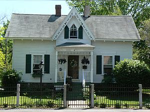 House at 114 Marble Street - Image: Stoneham MA House At 114Marble Street