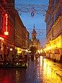 Str. Alba Iulia - vedere spre Catedrala Mitropolitana.jpg