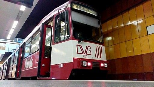Straßenbahn Duisburg, Mülheim (Ruhr) Hauptbahnhof, Linie 901, Wagen 1037