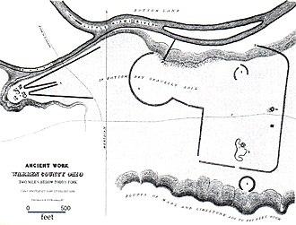 Stubbs Earthworks - Image: Stubbs Earthworks Charles Whittlesey 1852