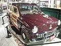 Studebaker National Museum May 2014 076 (1947 Studebaker Champion Deluxe Station Wagon).jpg