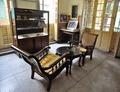 Study Room of Rabindranath Tagore - First Floor - Bichitra Bhavan - Jorasanko Thakur Bari - Kolkata 2015-08-04 1736-1738.tif