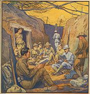 """""""Studying French in the Trenches,"""" The Literary Digest, October 20, 1917."""