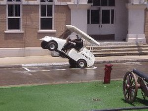 Police Academy Stunt Show - Image: Stunt Golf Cart parking