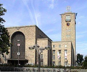 Stuttgart Hauptbahnhof (main train station)