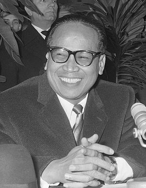 Sunda Straits Crisis - Foreign Minister Subandrio, pictured here in 1964.