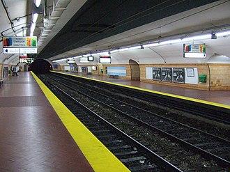Belgrano (Buenos Aires Underground) - Image: Subte Belgrano