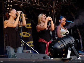 Sugababes - Second Sugababes line-up in May 2005
