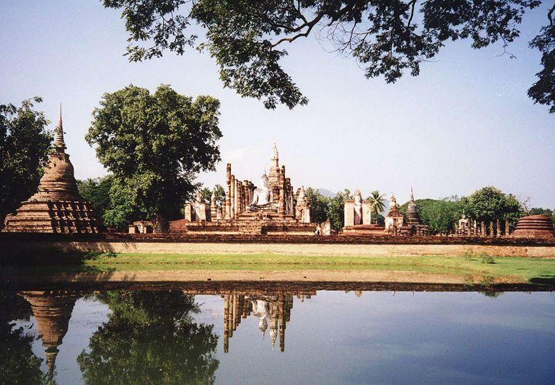 Wonderful Places In Asia Sukhothai Historical Park Sukhothai