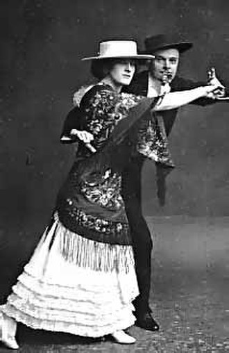 George Grossmith Jr. - Grossmith and Phyllis Dare in The Sunshine Girl