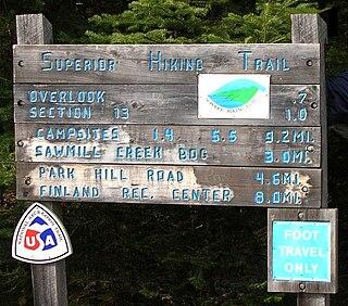 Superior Hiking Trail Trail in Minnesota