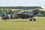Supermarine Spitfire T.9 'ML407 OU-V' (G-LFIX) (43787780890).jpg