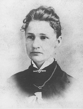 Susanna M. Salter - Salter in 1887