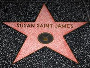 Susan Saint James - Susan Saint James   Hollywood Walk of Fame Star.