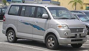 Suzuki IndoMobil Motor - Image: Suzuki APV (first generation) (front), Serdang