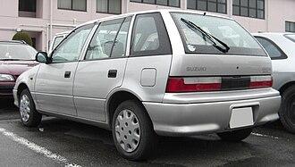 Pak Suzuki Motors - Image: Suzuki Cultus rear