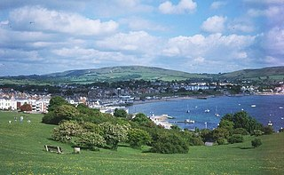 Swanage Human settlement in England
