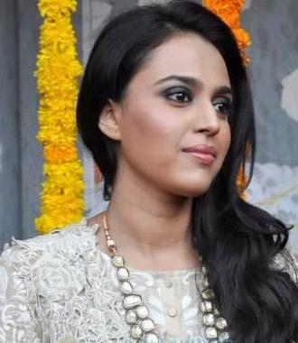 Swara Bhaskar - Bhaskar at the trailer launch of Raanjhanaa, 2013