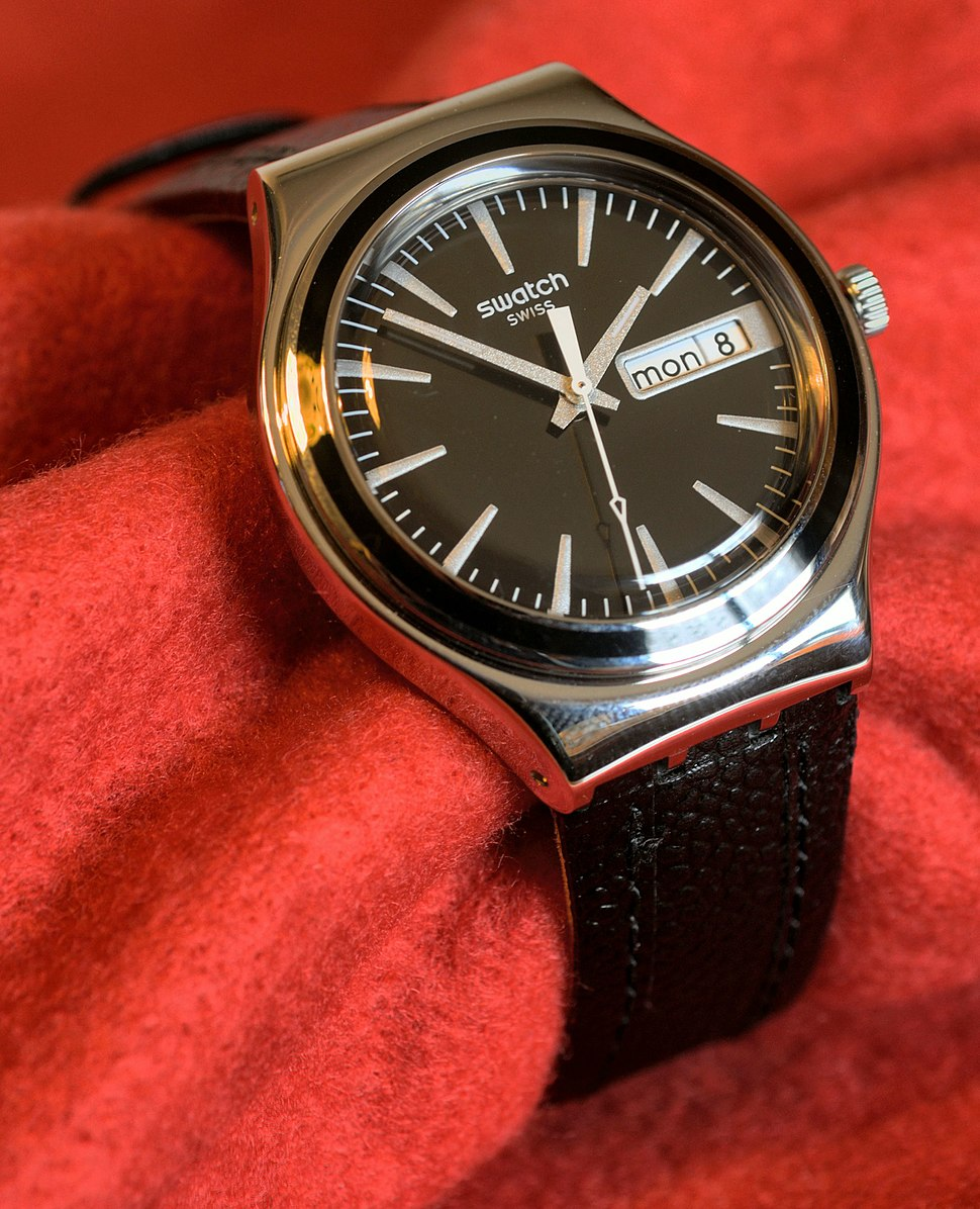 Swatch Irony Charcoal Suit