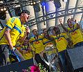 Sweden national under-21 football team celebrates in Kungsträdgården 2015-25.jpg