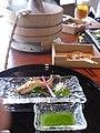 Sweet fish by yajico in Kyoto.jpg