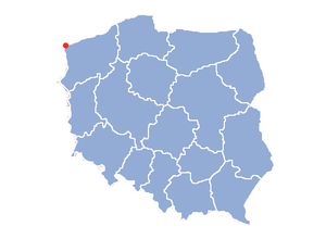 Location of Swīnmūþa