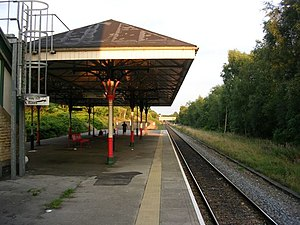 Swinton (Manchester) railway station - Image: Swinton (Manchester) railway station 1